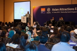 Over 1500 persons attended the comprehensive conference programme prepared by IAAPA.