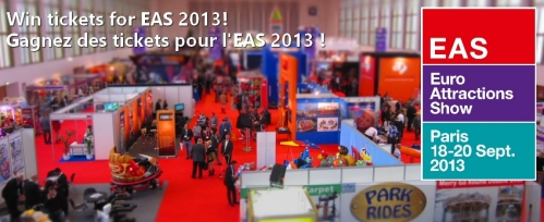 Win tickets for Euro Attractions Show 2013 in Paris