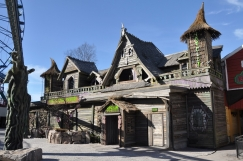 Nick Farmer has completed the design and construction of a new haunted ride at Linnanmäki.