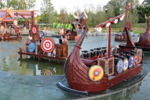 MACK Rides supplied an Interactive Boat Ride at Plopsaland in Belgium.