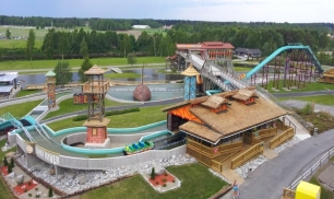 Interlink completed the installation of a Super Flume ride at PowerPark in Finland.