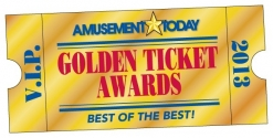 Amusement Today presented 2013 Golden Ticket Awards results.