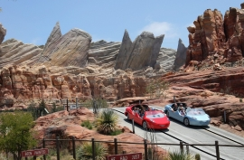 Investments over the first 9 months of the year totaled $1.37 billion versus $2.3 billion in the previous year that included the opening of Cars Land in California.