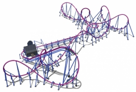 Banshee will also feature several elements that will distinguish it from other inverted roller coasters.