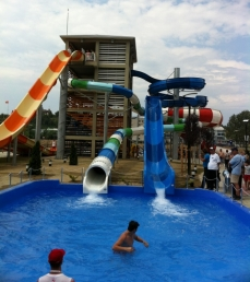 Polin reported the opening in late July of Boris Trajkovski Aqua Park.