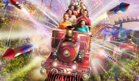 Phase 1 of the investment plan includes the opening of US's first dual-launch family coaster: FireChaser Express (2014)