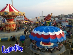 Jack Rouse Associates provided master planning and programming services for Casino Pier re-building effort (USA).