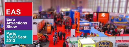 More than 390 companies will be present at the tenth edition of the Euro Attractions Show from September 18 to 20 in Paris.