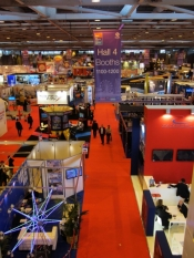 EAS 2013 has welcome record attendance, exhibitor number and total exhibit space.