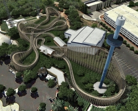 California's Great America to open a Great Coasters International wooden coaster in 2013 : Gold Striker