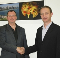 Jim Bowie, President of Electrosonic Group and Martin Howe, CEO of Global Immersion