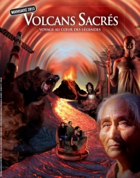Official advertising poster of Volcans Sacrés