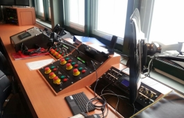 A look at Disney Dreams! control room.