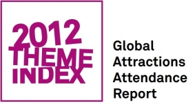 Attendance throughout global major theme parks reported more than 5% growth in 2012