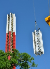 Entertainment Management Group managed the construction of the word tallest Star Flyer at Six Flags over Texas.