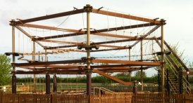 Innovative Leisure announced entry into the farm attractions sector of its range of ropes courses.