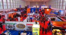 Un total de 393 exposants ont répondu à l'invitation de l'IAAPA Europe.